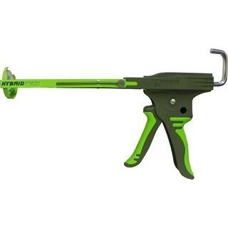 Newborn 212-HTD HybridTech Drip-Free Caulk Gun, Green