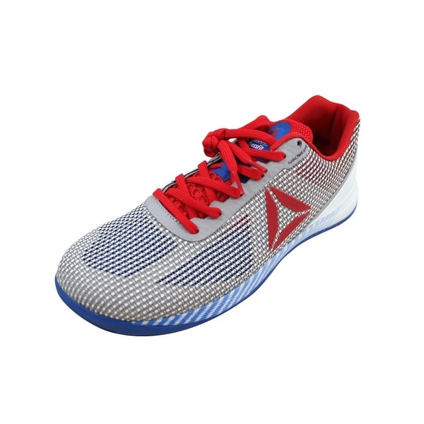 Shop Reebok Men s Crossfit Nano 7.0 White Blue-Red-Black-Skull ... 1d123b120