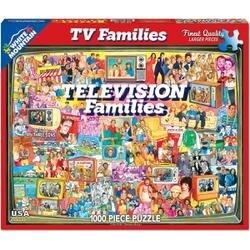 "Tv Families - Jigsaw Puzzle 1000 Pieces 24""X30"""