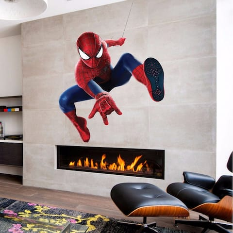 Spiderman Full Color Decal, Spiderman Full color sticker
