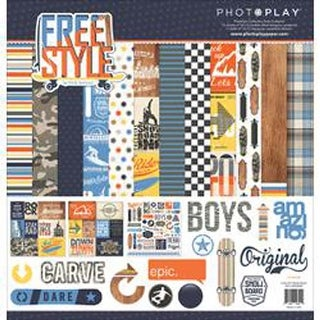 """Freestyle - Photo Play Collection Pack 12""""X12"""""""