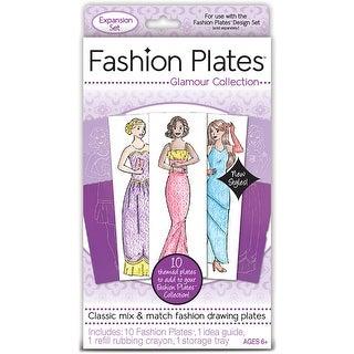 Fashion Plates 10/Pkg-Glamour