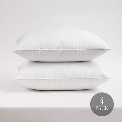 Cozy Classics Hotel Collection 230 Thread Count Cotton Quilted Pillow