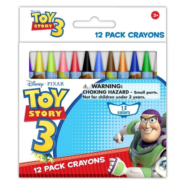 Toy Story 12 pack wax crayons (10554A)