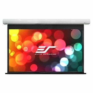 "Elite Screens SK110XHW-E24 110"" Diagonal Saker Series Projector Screen"