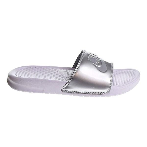 check out 42584 96db9 Nike Women  x27 s Benassi Jdi Sandal (7 B(M) Us