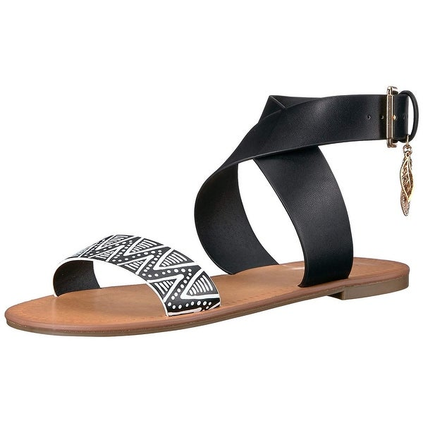 Indigo Rd. Womens Devin Open Toe Casual Ankle Strap Sandals