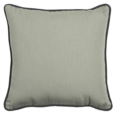 Arden Selections Oasis Indoor/Outdoor Throw Pillow w/ Accent