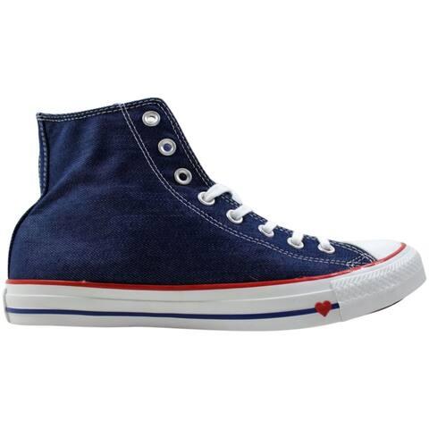 Converse Chuck Taylor All Star Hi Indigo/Red-Blue 163303c Men's