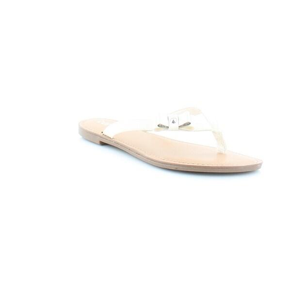 Bar III Vance Women's Sandals & Flip Flops White - 6.5