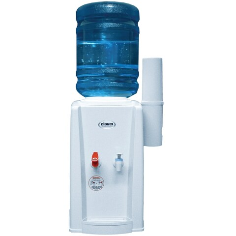 Clover B9A Hot and Cold Countertop Water Dispenser - White