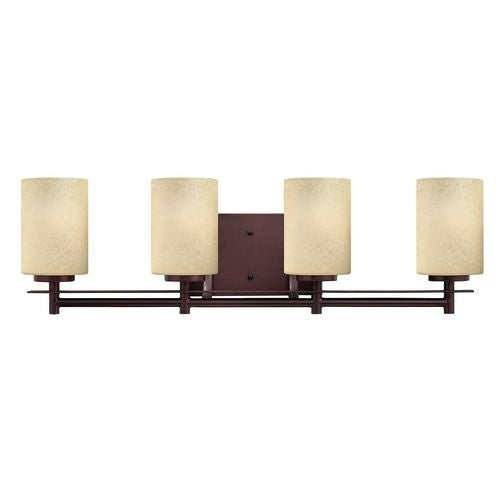"""Hinkley Lighting H5734 4 Light 27.5"""" Width Bathroom Vanity Light from the Stowe Collection"""