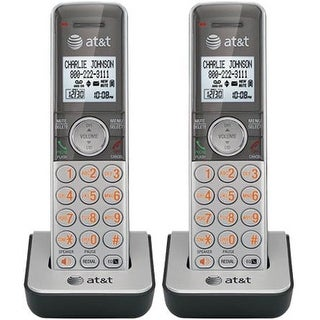 AT&T CL80101 DECT 6.0 Expansion Handset w/ Caller ID, Call Waiting & Speakerphone- 2 Pack