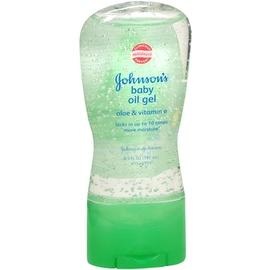 JOHNSON'S Aloe Vera & Vitamin E Baby Oil Gel 6.50 oz
