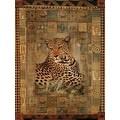 ''Leopard'' by Rob Hefferan Animals Art Print (19.75 x 15.75 in.) - Thumbnail 0