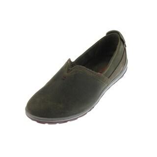 Merrell Womens Ashland Leather Contrast Trim Loafers - 6.5 medium (b,m)