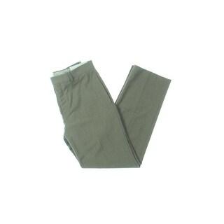 Lauren Ralph Lauren Mens Dress Pants Glen Plaid Flat Front