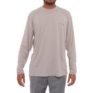 Columbia Skiff Guide III Long Sleeve Crew Neck Tee Men Basic T-Shirt