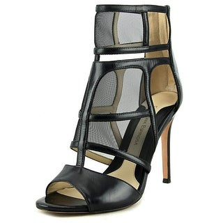 Carolinna Espinosa Sammy Women Open-Toe Leather Heels