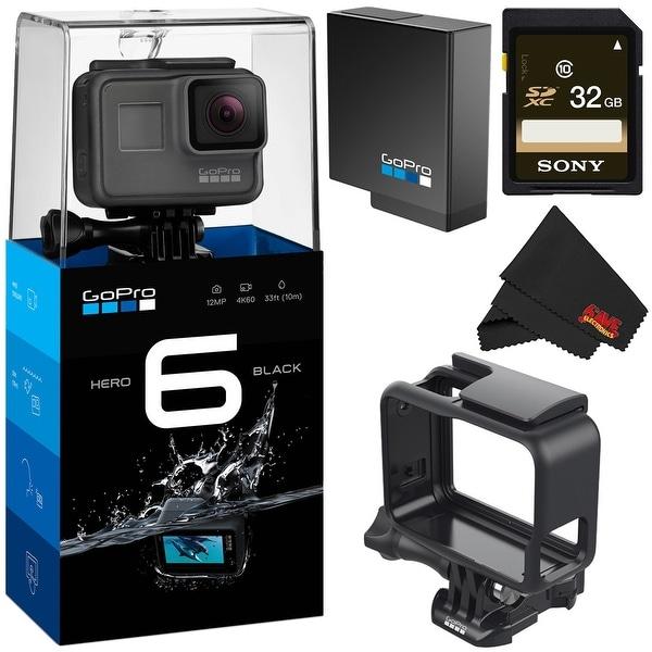 GoPro HERO6 Black Action Camera (CHDHX-601) Bundle