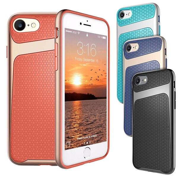 Apple iPhone 7 Slim Shockproof Hybrid Hard Bumper Soft Case