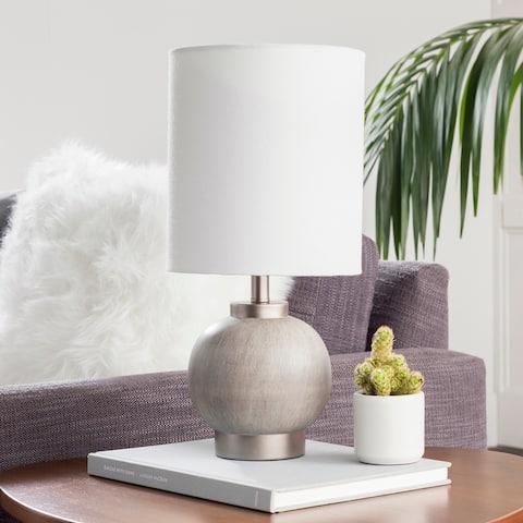 Iovita Charcoal Petite Lamp