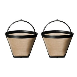 Replacement Coffee Filter for Krups F0494210 (2-Pack) Replacement Coffee Filter