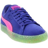 Puma Womens Suede Low Top Lace Up Fashion Sneakers