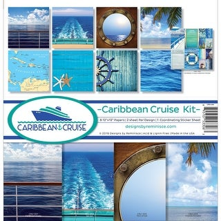 """Reminisce Collection Kit 12""""X12""""-Caribbean Cruise"""
