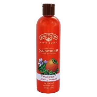Nature's Gate Conditioner Persimmon & Rose Ger 12-ounce