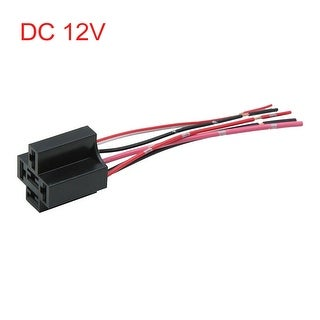 Link to DC 12V 5 Pin Wire Cable Relay Socket Harness Plug Connector for Car Auto Similar Items in Car Audio & Video