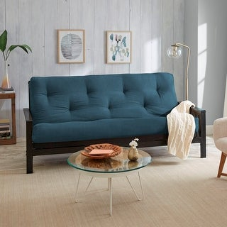 Porch & Den Tephra Faux Suede Queen-size 12-inch Futon Mattress