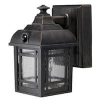 Fulcrum 32001-107 Wireless LED Craftsman-Style Porch Light, Bronze