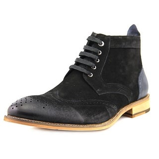 Bugatchi Alta Men Wingtip Toe Suede Boot