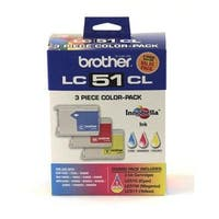 Brother International LC513PKS Color Ink Cartridge 3 Pack