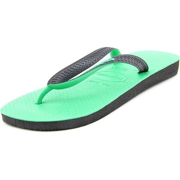 Havaianas Top Flip Flop Men Open Toe Synthetic Black Flip Flop Sandal