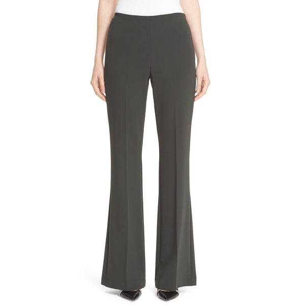 Shop Theory Green Womens 8 Stretch Demitria Admiral Crepe