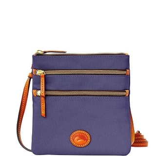 Dooney & Bourke Nylon North South Triple Zip (Introduced by Dooney & Bourke at $89 in Oct 2014) - Midnight Blue