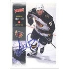 Andrew Brunette Atlanta Thrashers 2000 Victory Autographed Card This item comes with a certificate