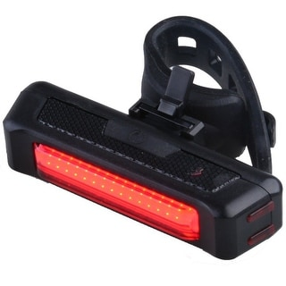 Image LED Bike Headlight Bicycle Front Rear Tail Light USB Rechargeable Waterproof 100 Lumen