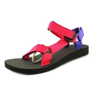 Teva Original Universal Women Open-Toe Canvas Pink Sport Sandal