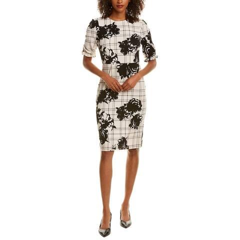 Tiana B Ruffle Sheath Dress