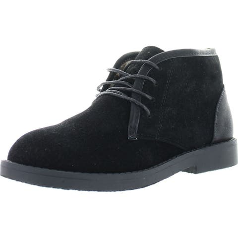 Bella Marie Marcy-11 Women's Soft Lace Up Chukka Boots