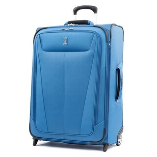 Travelpro Maxlite 5 - 26 Azure Blue Expandable Rollaboard w/ Honeycomb Frame System
