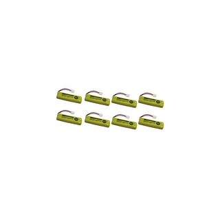 Replacement Battery For VTech LS6205 Cordless Phones - BT28443 (500mAh, 2.4v, NiMH) - 8 Pack