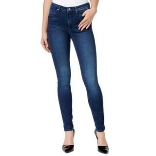 Calvin Klein NEW Dark Wash Denim Women's Size 26X32 Slim Skinny Jeans