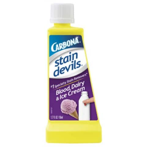 Carbona 406/24 Stain Devils #4 Blood & Dairy Remover, 1.7 Oz