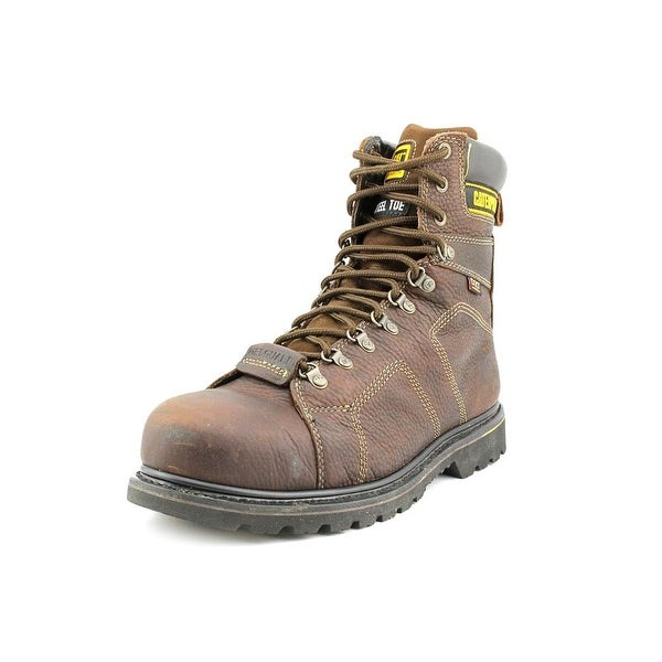 Caterpillar Silverton Guard St Round Toe Leather Work Boot