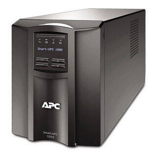 Apc Smt1000c Smart-Ups 1000Va Lcd 120V With Smartconnect - Black