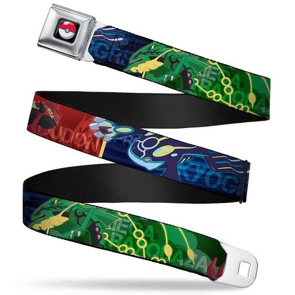 Pok Ball Full Color Black Legendary Pokmon Weather Trio Rayquaza Groudon Seatbelt Belt